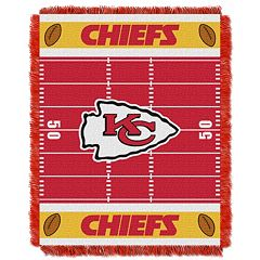 Kansas City Chiefs Baby Jacquard Throw