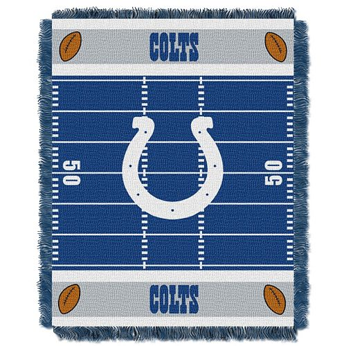 Indianapolis Colts Baby Jacquard Throw