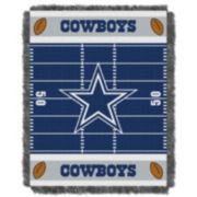 Dallas Cowboys Baby Jacquard Throw