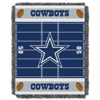 Dallas Cowboys Baby Jacquard Throw