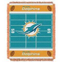 Miami Dolphins Baby Jacquard Throw