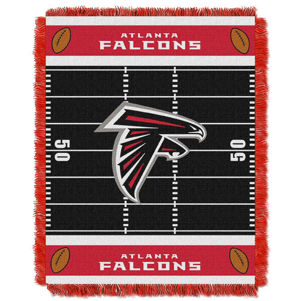 Atlanta Falcons Baby Jacquard Throw