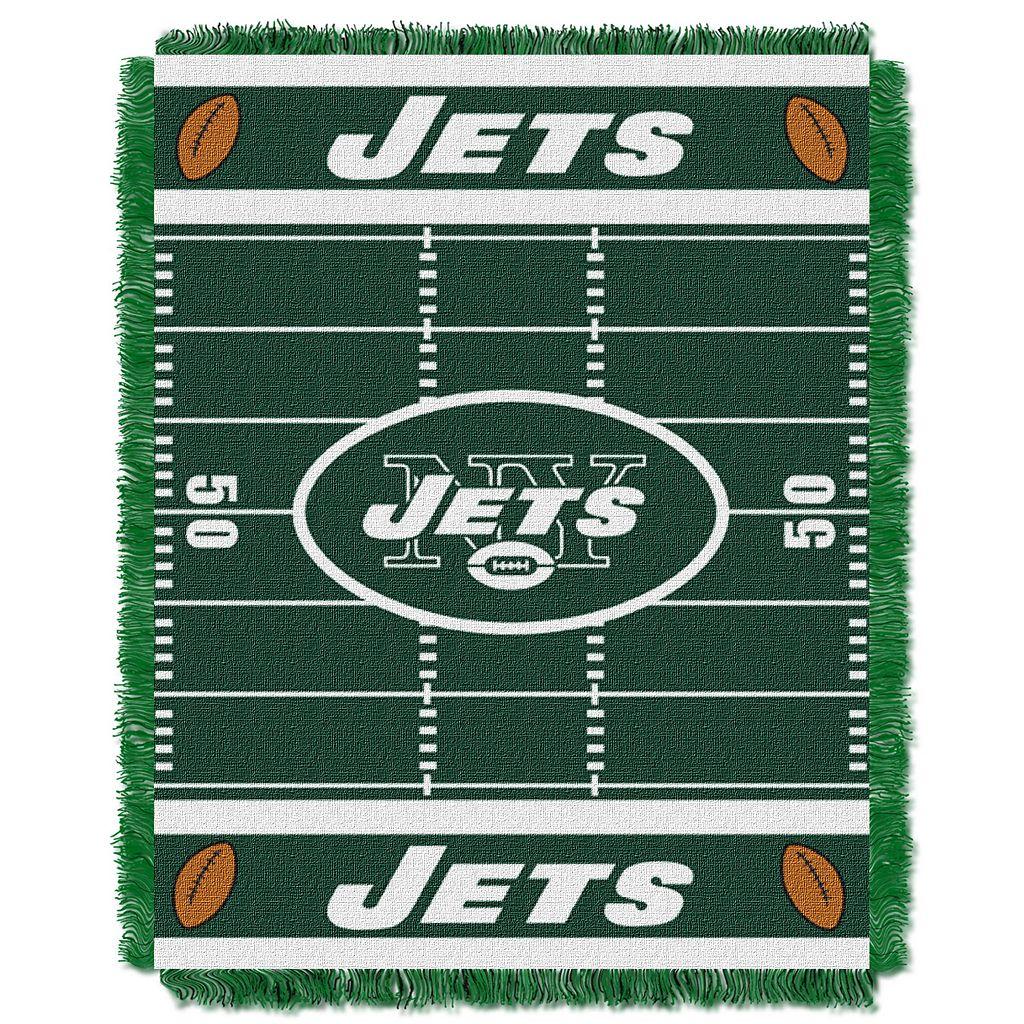 New York Jets Baby Jacquard Throw