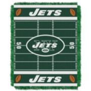New York Jets Baby Jacquard Throw