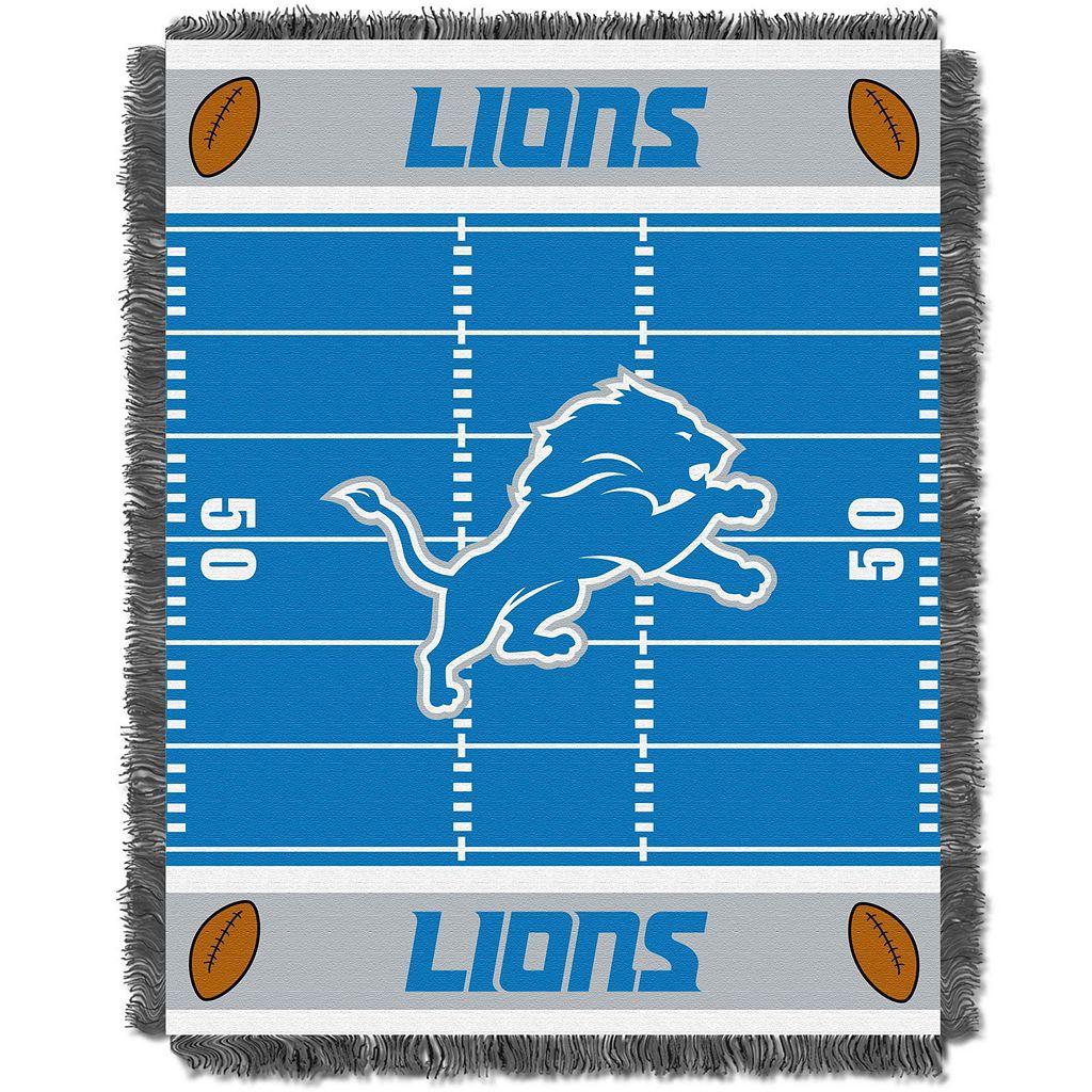 Detroit Lions Baby Jacquard Throw