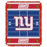 New York Giants Baby Jacquard Throw