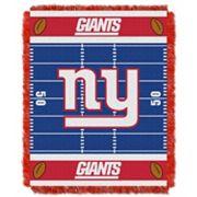 New York Giants Baby Jacquard Throw