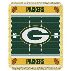 Green Bay Packers Baby Jacquard Throw