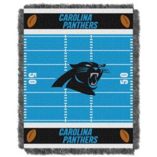 Carolina Panthers Baby Jacquard Throw