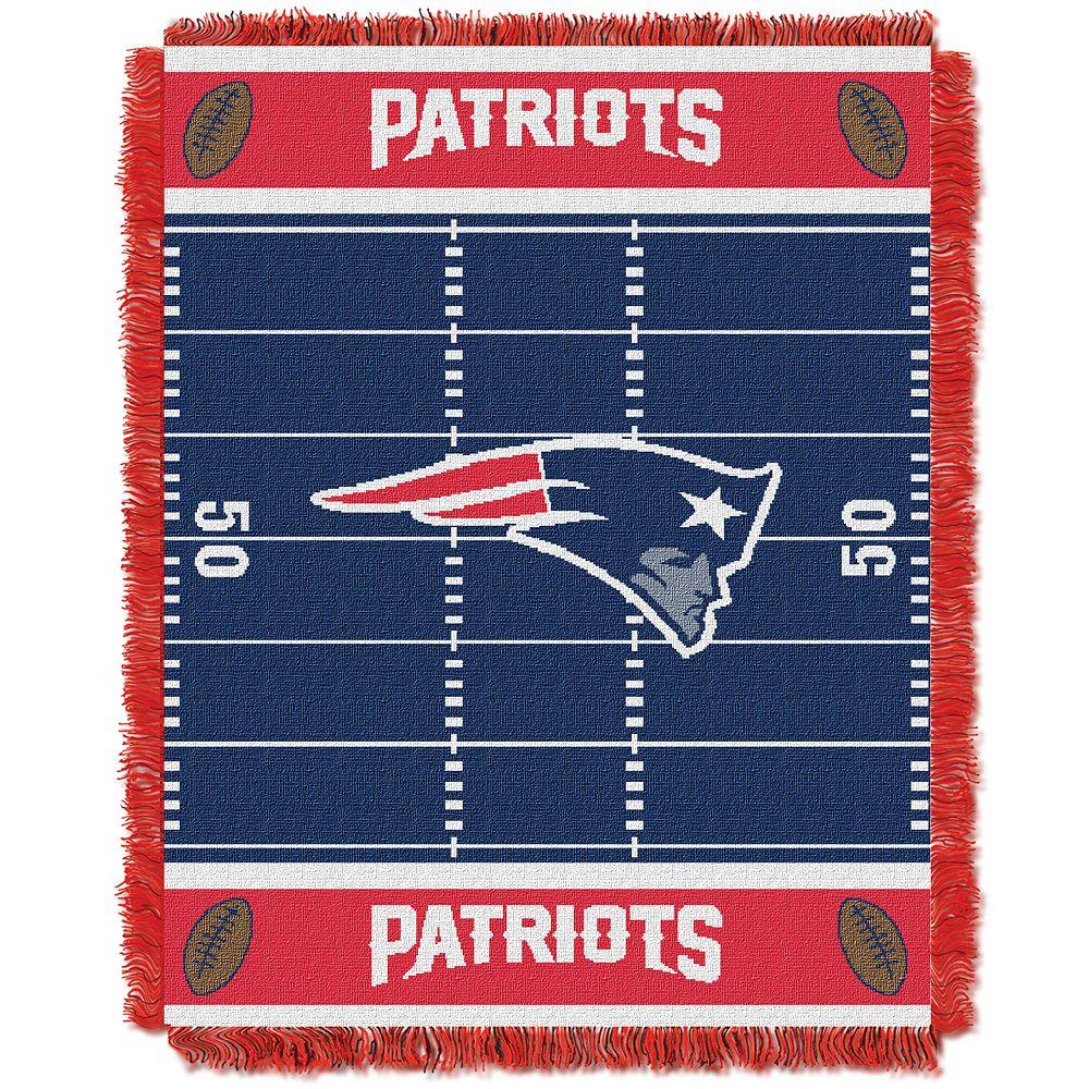 New England Patriots Baby Jacquard Throw
