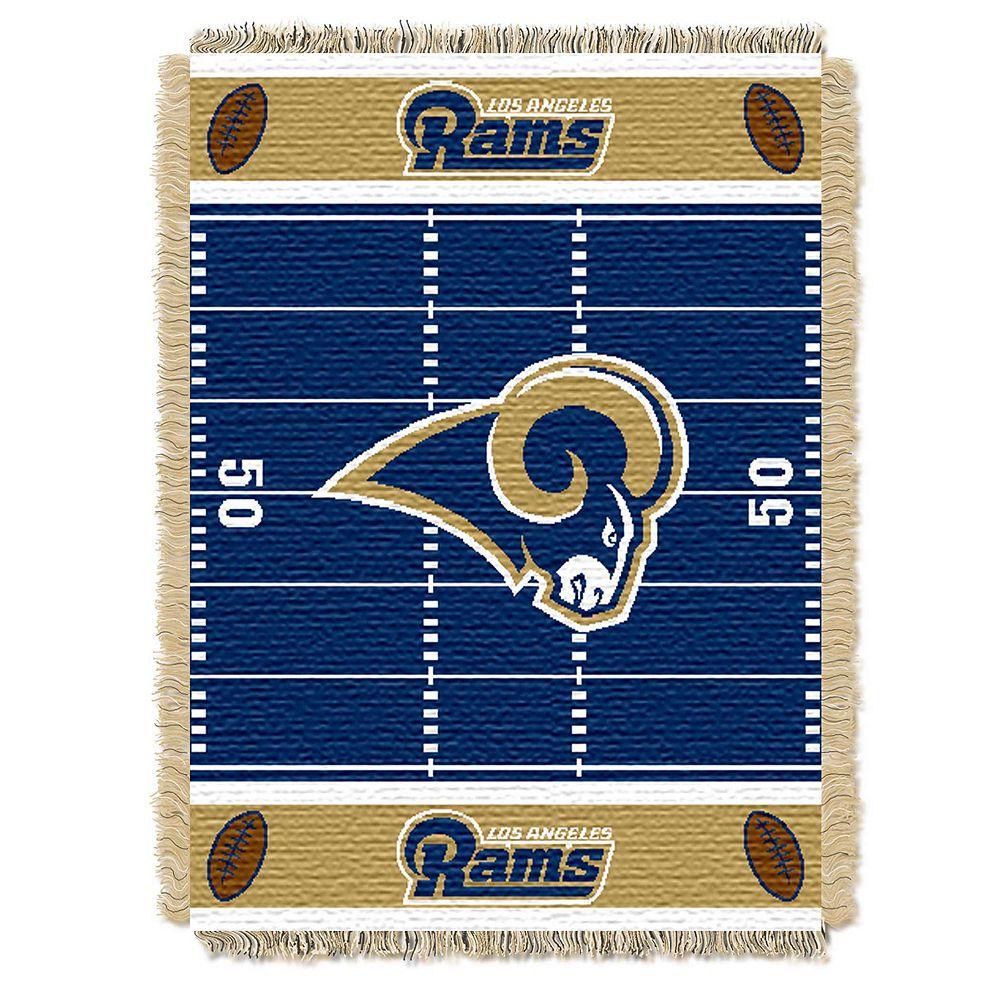 Los Angeles Rams Baby Jacquard Throw