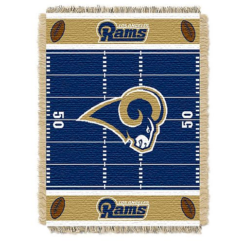 Los Angeles Rams Baby Jacquard Throw