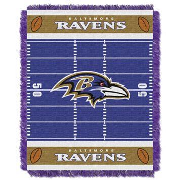 Baltimore Ravens Baby Jacquard Throw