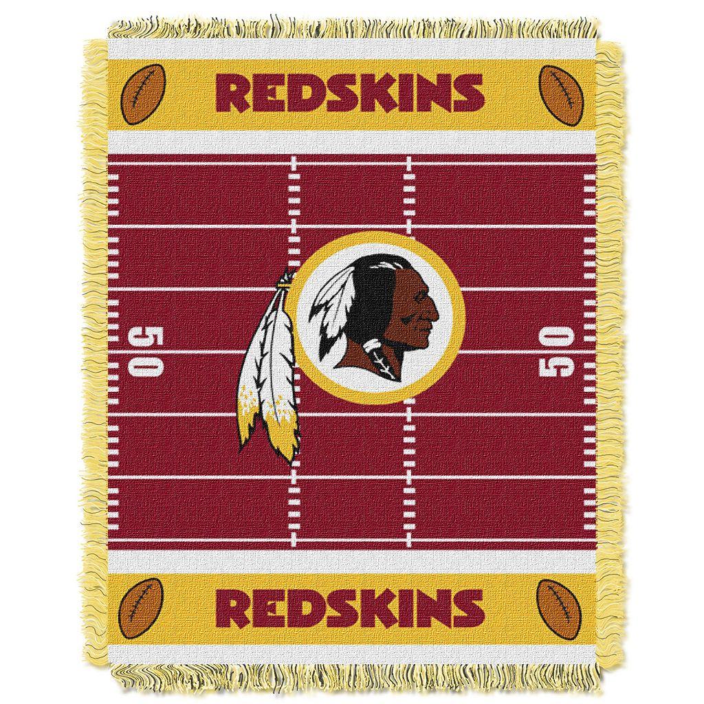 Washington Redskins Baby Jacquard Throw