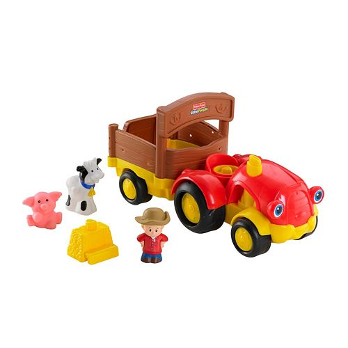 Fisher-Price Little People Tow n Pull Tractor