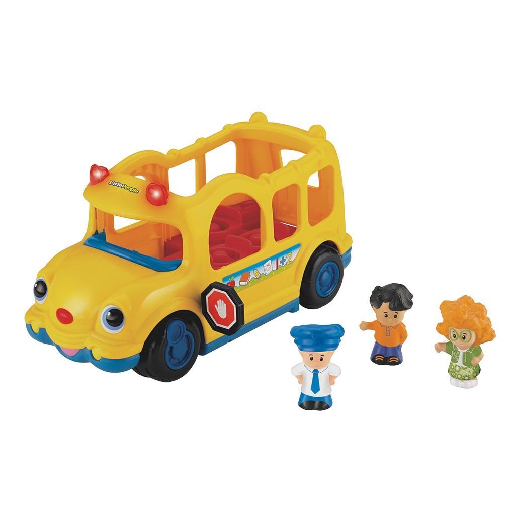 Fisher-Price Little People Lil' Movers Schoolbus