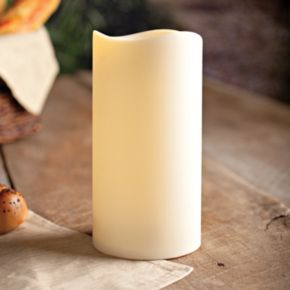 Gerson 4 1/2 x 9 LED Pillar Candle