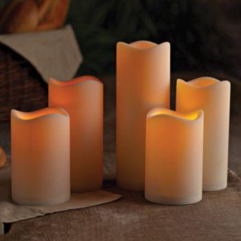 Gerson 5-pc. LED Pillar Candle Set