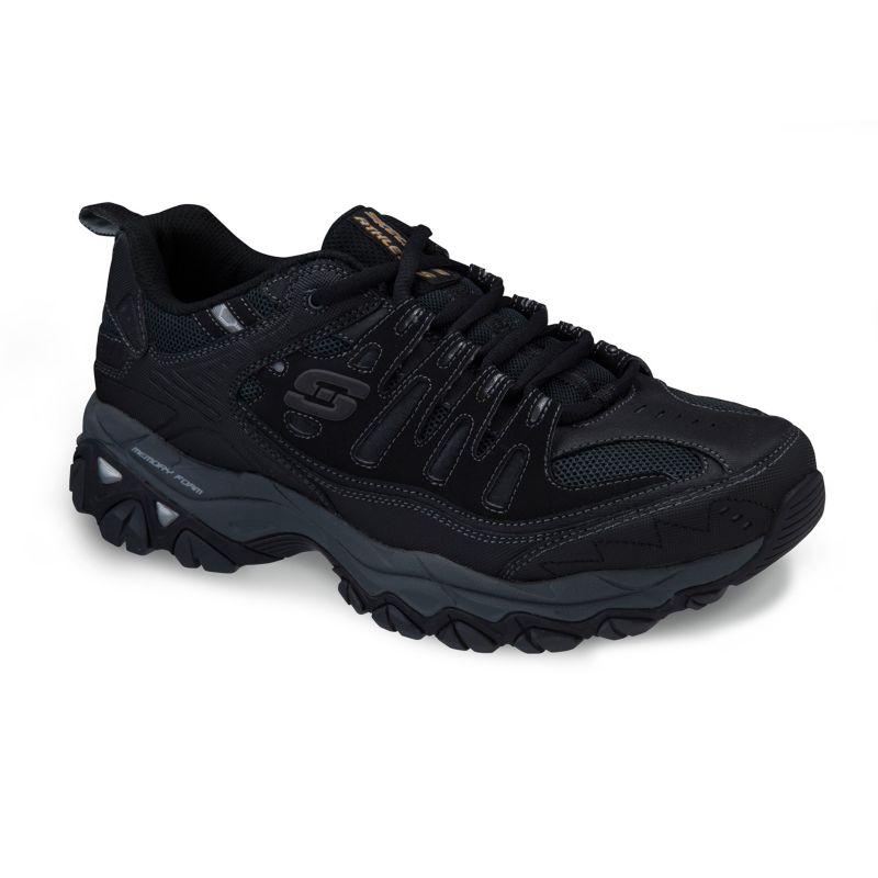 Skechers Afterburn M-Fit Men's Athletic Shoes, Size: 10.5, Black