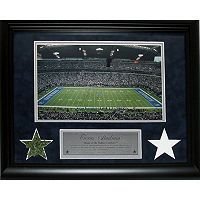 Steiner Sports Dallas Cowboys Game Used Turf and Uniform 11'' x 14'' Collage