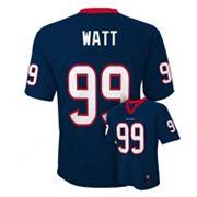 Boys 8-20 Houston Texans JJ Watt NFL Replica Jersey