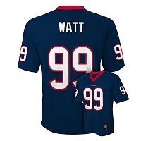 Boys 8-20 Houston Texans JJ Watt NFL Replica Jersey