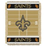 New Orleans Saints Baby Jacquard Throw