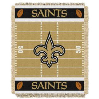 New Orleans Saints Baby Jacquard Throw
