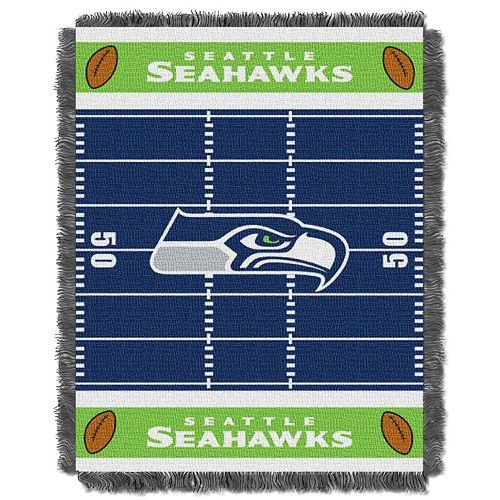 Seattle Seahawks Baby Jacquard Throw