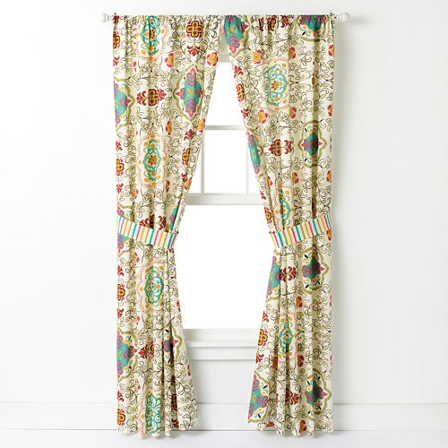 Esprit 2-pack Spice Window Curtains - 42