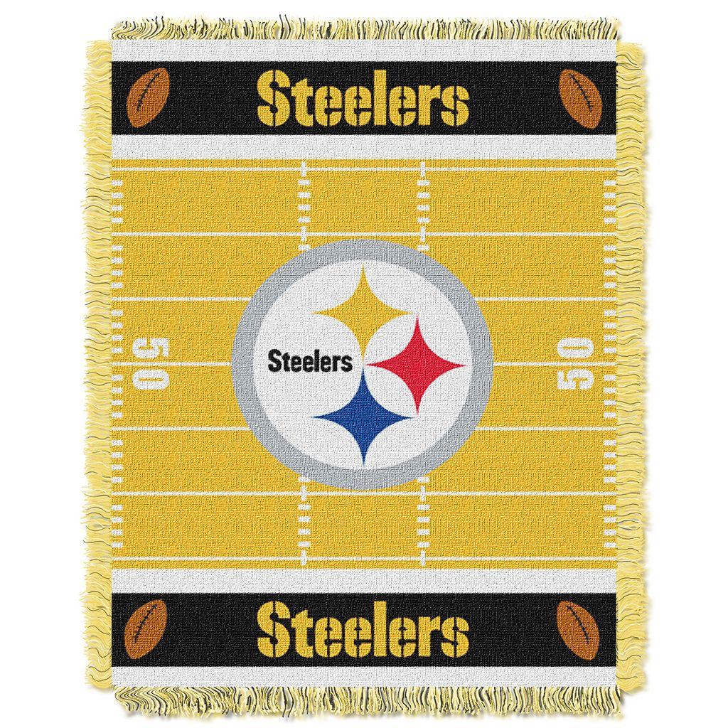 Pittsburgh Steelers Baby Jacquard Throw