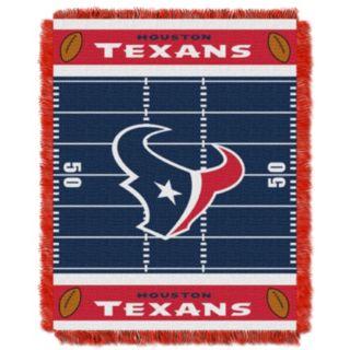 Houston Texans Baby Jacquard Throw
