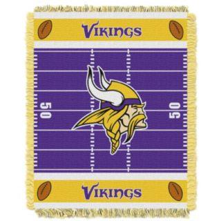 Minnesota Vikings Baby Jacquard Throw