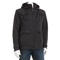 Big & Tall Victory 40 Sherpa-Lined Fleece Hooded Jacket