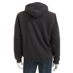 Big & Tall Victory 40 Sherpa-Lined Fleece Hooded Jacket
