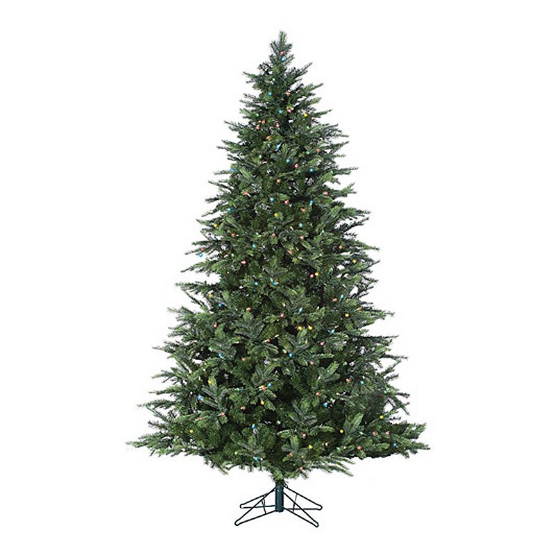 Sterling 9-ft. Pre-Lit Multicolored LED Fairmont Pine Artificial Christmas Tree - Indoor