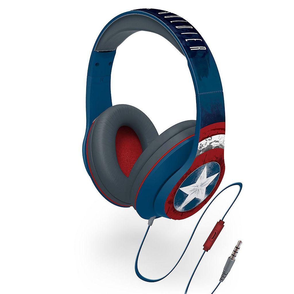 Marvel Captain America Character Headphones by iHome