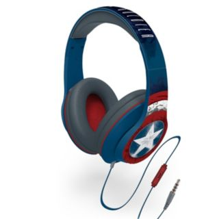Marvel Captain America Character Headphones by iHome