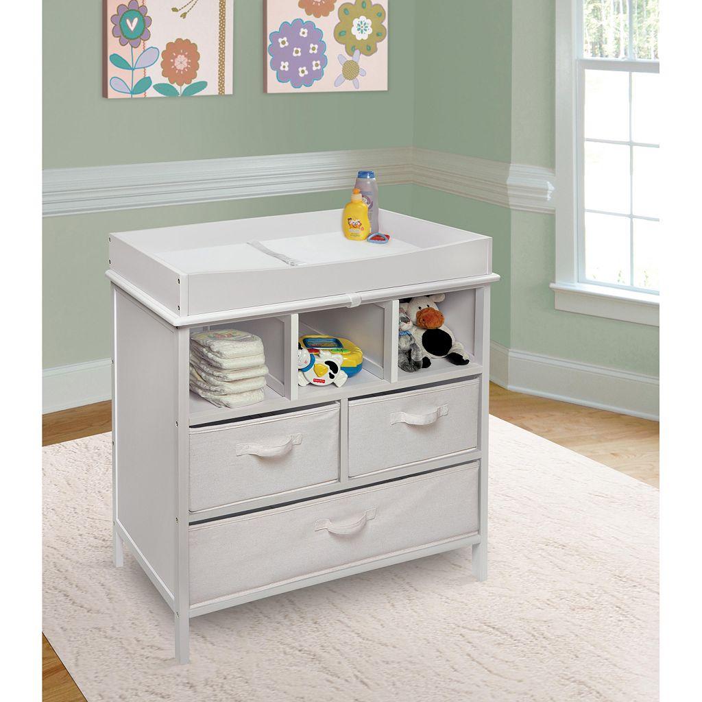 Badger Basket Estate Baby Changing Table