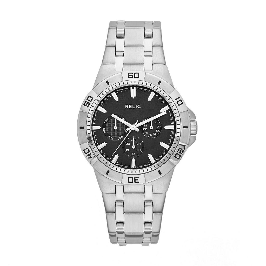 Relic Men's Garrett Stainless Steel Watch