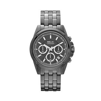 Relic Mens Grant Stainless Steel Chronograph Watch