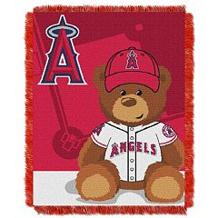 Los Angeles Angels of Anaheim Baby Jacquard Throw