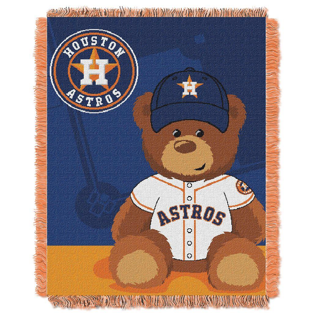 Houston Astros Baby Jacquard Throw