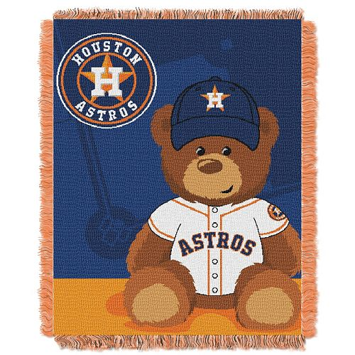 Houston Astros Baby Jacquard Throw