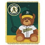 Oakland Athletics Baby Jacquard Throw