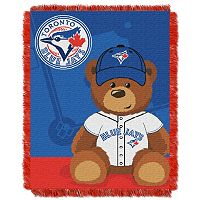 Toronto Blue Jays Baby Jacquard Throw