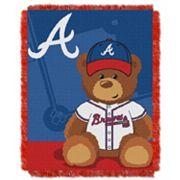 Atlanta Braves Baby Jacquard Throw