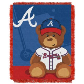 Atlanta Braves Baby Jacquard Throw