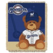 Milwaukee Brewers Baby Jacquard Throw