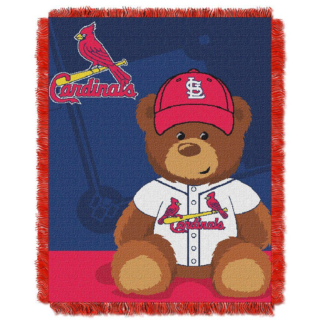 St. Louis Cardinals Baby Jacquard Throw